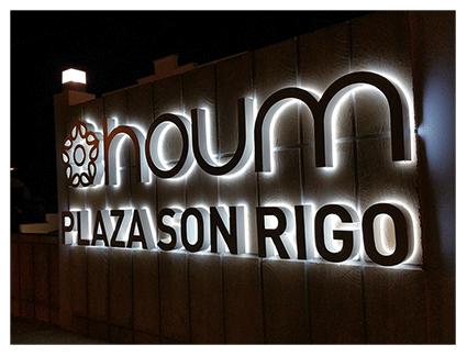 Letras LED
