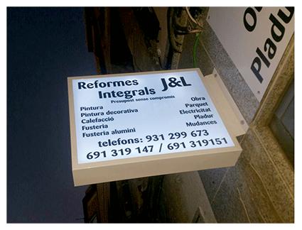 carteles led para negocios en Badajoz