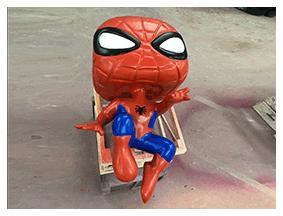 Figura spiderman 3d poliestireno