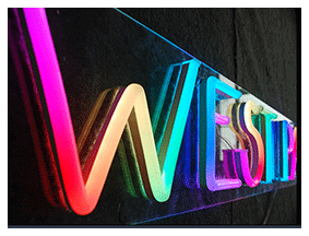 Letras de led neon flex