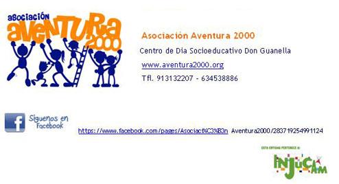 Rótulo social de Rotulowcost para Asociación Aventura 2000
